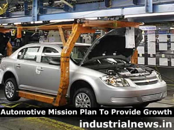 Automotive Mission Plan For Boost to Automobile sector in India