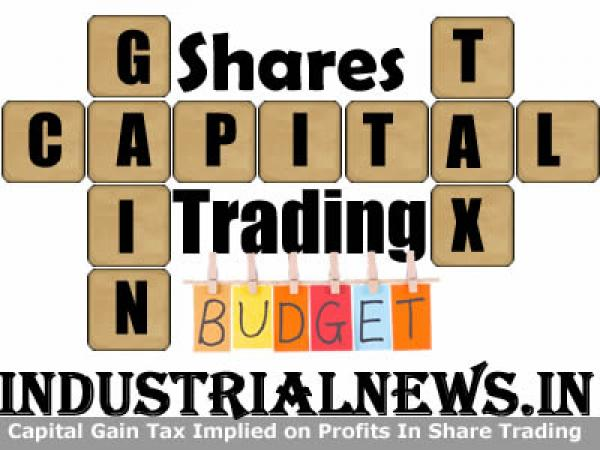 Capital Gain Tax On Sale of Shares After 1st April 2018