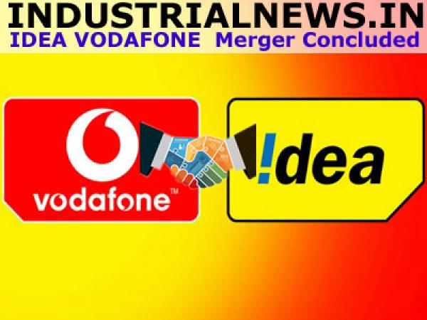Idea Cellular and Vodafone Merger Completed