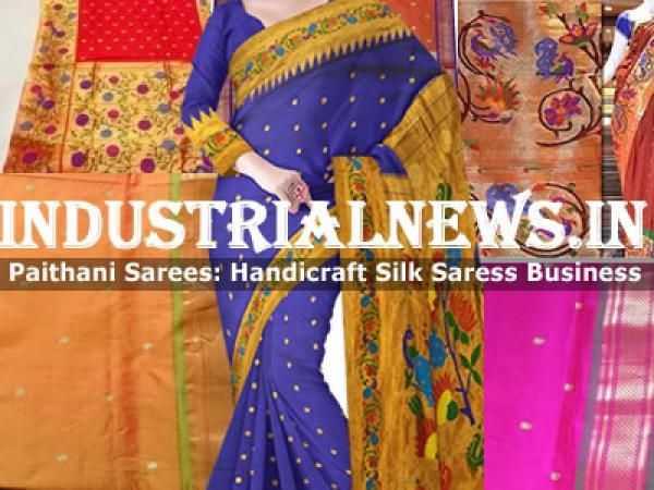 Paithani Silk Sarees Manufacturers In India