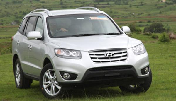 Hyundai launches its third SUV offering, the Santa Fe